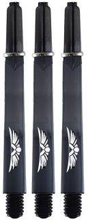 Shot Eagle Claw Black Medium Shafts | Darts Warehouse