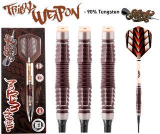 Shot Tribal Weapon 3 CW 90% Softtip Darts | Darts Warehouse