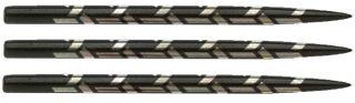 Shot Samurai Black Dartpoints 35 mm| Darts Warehouse