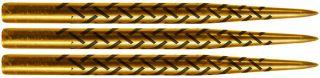 Warrior Gold Titanium Cinder Grip 35mm