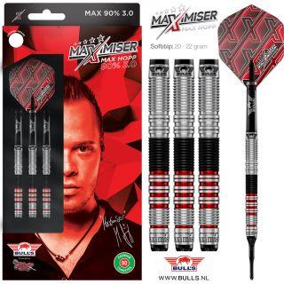 Max90 3.0 Max Hopp 90% Softtip Bull's   Darts Warehouse
