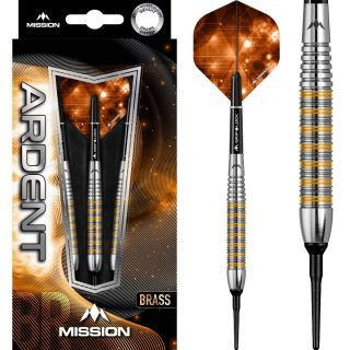 Mission Ardent Tungsten Look M2 Softtip | Darts Warehouse