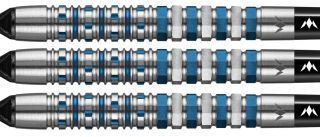 Mission Kronos 95% M3 Blue Titanium Softtip Darts | DartsWarehouse