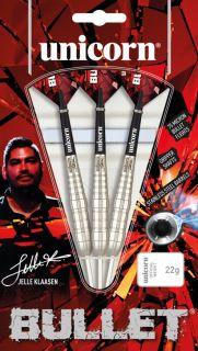 Bullet Jelle Klaasen Stainless Steel | Unicorn Darts | Dartswarehouse