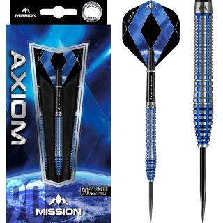 Axiom 90% M3 Blue Titanium Darts | Darts Warehouse