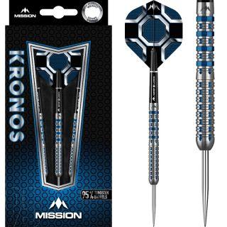 Kronos M2 95% Tungen Blue Titanium Darts | Darts Warehouse