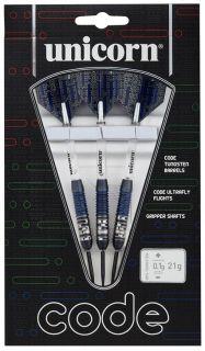 Code 80% Black Blue Unicorn Darts | Darts Warehouse