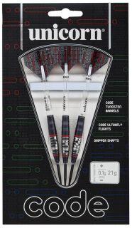 Code 80% Black Red Unicorn Darts | Darts Warehouse