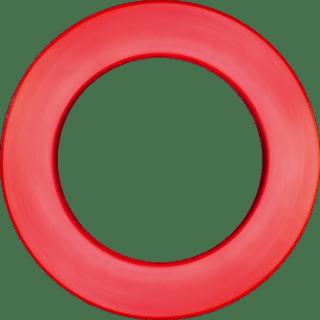 Rode Dartbord Lite Surround Bull's Advantage | Darts Warehouse