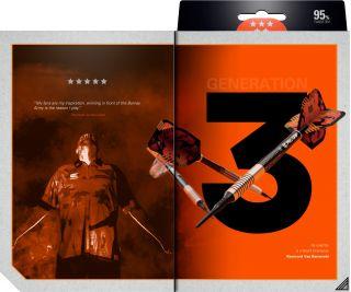 Softtip RVB95 Gen.3 Target Raymond van Barneveld 95% | Dartswarehouse