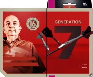 Phil Taylor Power 9FIVE Gen.7 95% Swiss | Darts Warehouse