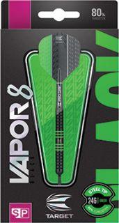 Vapor8 Black Green Swiss 80% | Target Dartpijlen | DartsWarehouse