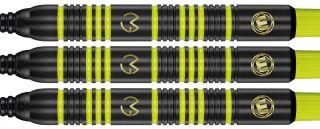 Michael van Gerwen Ambition Black Brass Softtip | Darts Warehouse