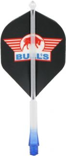 X-Ray Sidewinger Blue Medium Bulls Shafts | Darts Warehouse
