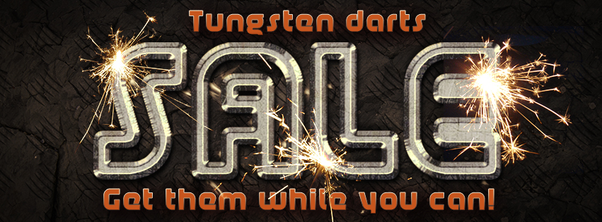 Sale Tungsten Darts